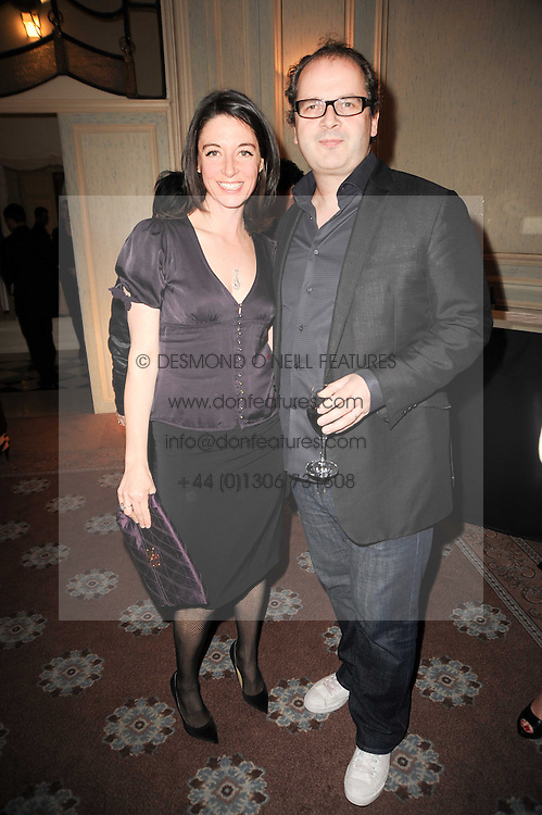 MARY McCARTNEY and ROBIN DERRICK at a dinner hosted by Vogue in honour of photographer David Bailey at Claridge's, Brook Street, London on 11th May 2010.