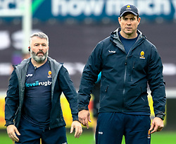 Head Coach Rory Duncan of Worcester Warriors<br /> <br /> Photographer Simon King/Replay Images<br /> <br /> European Rugby Challenge Cup Round 5 - Ospreys v Worcester Warriors - Saturday 12th January 2019 - Liberty Stadium - Swansea<br /> <br /> World Copyright © Replay Images . All rights reserved. info@replayimages.co.uk - http://replayimages.co.uk