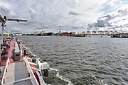 Nederland, Amsterdam, 19-6-2018Opslagtanks voor brandstof, benzine en diesel bij Vopak in Amsterdam Westpoort.FOTO: FLIP FRANSSEN