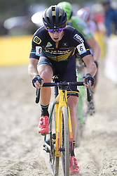 October 20, 2018 - Boom, France - VAN DER HAAR Lars (NED) of TELENET FIDEA LIONS in action during the 2nd leg of the men elite and U23 Telenet Superprestige cyclocross race (Credit Image: © Panoramic via ZUMA Press)