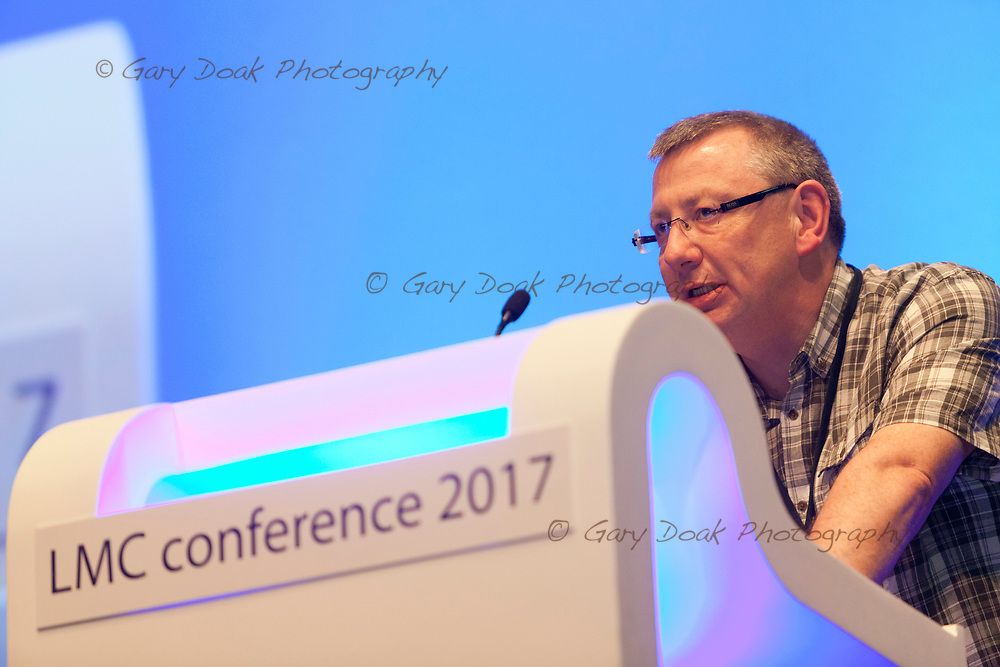 Brian Fraser<br /> BMA LMC's Conference<br /> EICC, Edinburgh<br /> <br /> 18th May 2017<br /> <br /> Picture by Gary Doak