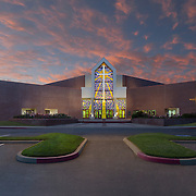 Images of Dr. Ephraim Williams Family Life Center Religious Infrastructure- Architectural Photography Example of Chip Allen's work.