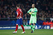 Jan Oblak of Atletico de Madrid during the UEFA Champions League, Group A football match between Atletico de Madrid and AS Monaco on November 28, 2018 at Wanda Motropolitano stadium in Madrid, Spain - Photo Oscar J Barroso / Spain ProSportsImages / DPPI / ProSportsImages / DPPI