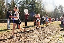 New England High School XC Championship, Kirsten Sandreuter, Greely, Laura Hergenrother, Ridgefield,