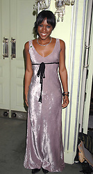 Actress CLARE-HOPE ASHITEY attending the 27th Awards of the London Film Critics' Circle 2007 in aid of the NSPCC held at The Dorchester, Park Lane, London on 8th February 2007.<br />