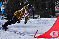 Europa Cup Finals Banked Slalom, GONZALEZ FERNANDEZ Vic, ESP at the 2016 IPC Snowboard Europa Cup Finals and World Cup