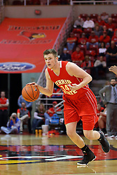 26 November 2016:  Cole Walker during an NCAA  mens basketball game between the Ferris State Bulldogs the Illinois State Redbirds in a non-conference game at Redbird Arena, Normal IL
