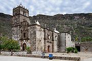 The Catholic mission San Francisco Javier, Baja Mexico