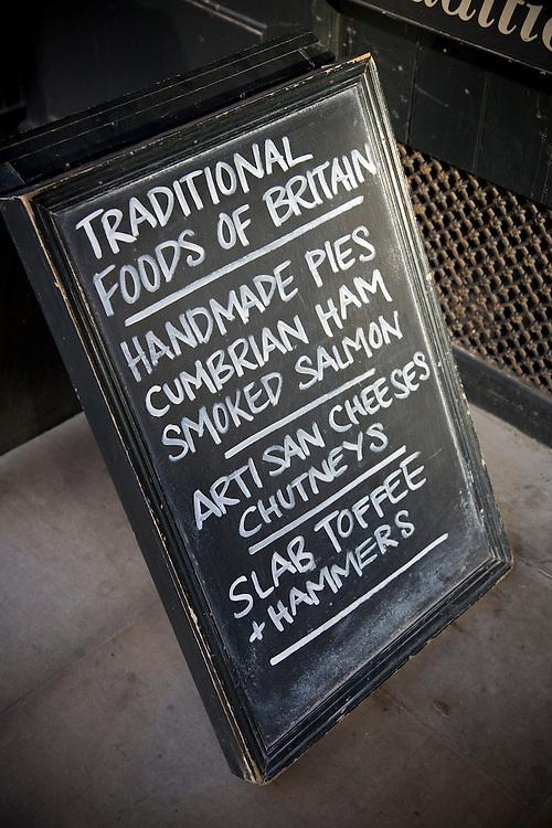 traditional foods of britain, pies, ham, smoked salmon, artisan cheeses, chutney, toffee,