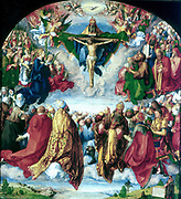 Adoration of the Trinity (1510).  Albrecht Durer (1471-1528) German artist.