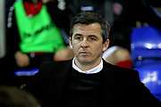 Fleetwood Town Manager Joey Barton  before the EFL Sky Bet League 1 match between Peterborough United and Accrington Stanley at London Road, Peterborough, England on 20 October 2018.