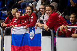 Fans during friendly game between national teams of Slovenia and Serbia on 29th of September, Celje, Slovenija 2018