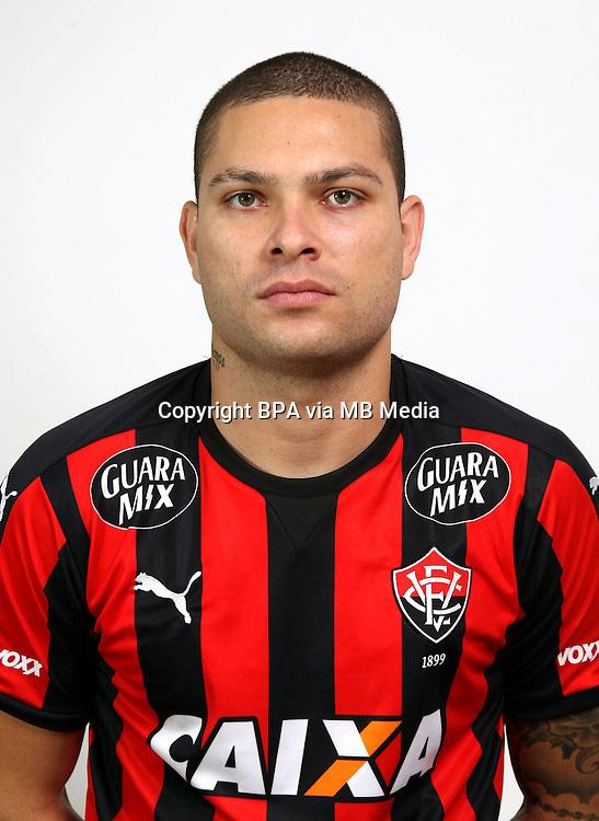 Brazilian Football League Serie A / <br /> ( Esporte Clube Vitoria-Bahia ) - <br /> Guilherme Cruz de Mattis &quot; Guilherme Mattis &quot;