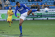 Eastleigh FC Midfielder Jai Reason during the Vanarama National League match between Southport and Eastleigh at the Merseyrail Community Stadium, Southport, United Kingdom on 17 December 2016. Photo by Pete Burns.
