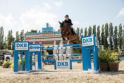 Davis, Lucy (USA), Caracho<br /> Berlin - Global Jumping Berlin 2017<br /> © www.sportfotos-lafrentz.de/Stefan Lafrentz