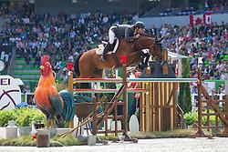 Eduardo Alvarez Aznar, (ESP), Rokfeller De Pleville Bois - First Round Team Competition Jumping Speed - Alltech FEI World Equestrian Games™ 2014 - Normandy, France.<br /> © Hippo Foto Team - Leanjo De Koster<br /> 03-09-14