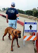 One Way Only Walkway Signage During Corona Virus Pandemic