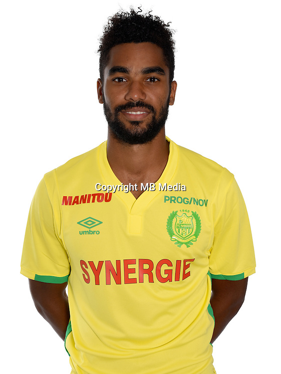 Koffi Djidji during photocall of Fc Nantes for new season of Ligue 1 on September 14th 2016<br /> Photo : Fcna / Icon Sport