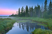 Swanson Creek at dawn<br />