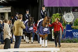 Team Germany, Werth Isabell, Langehanenberg Helen, Rothenberger Sönke, Schneider Dorothee<br /> FEI European Dressage Championships - Goteborg 2017 <br /> © Hippo Foto - Dirk Caremans<br /> 23/08/2017,