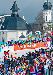 23.02.2019, Langlauf Arena, Seefeld, AUT, FIS Weltmeisterschaften Ski Nordisch, Seefeld 2019, Skiathlon, Damen, 15km, im Bild Therese Johaug (NOR) // Therese Johaug of Norway during the ladie's 15km Skiathlon competition of the FIS Nordic Ski World Championships 2019. Langlauf Arena in Seefeld, Austria on 2019/02/23. EXPA Pictures © 2019, PhotoCredit: EXPA/ Stefan Adelsberger
