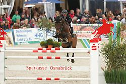 Kayser, Julia, Sterrehof´s Cayetano Z<br /> Hagen - Horses and Dreams 2015<br /> Qualifikation DKB-Riders Tour<br /> © www.sportfots-lafrentz.de/Stefan Lafrentz