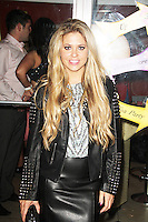 Bianca Gascoigne, Luisa Zissman's Mad Hatter's Tea Party, Retro Feasts, London UK, 06 November 2013, Photo by Brett Cove