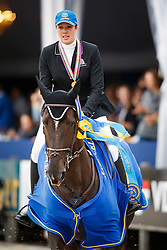 Patteet Gudrun (BEL) - Sea Coast Atlantic<br /> FEI World Breeding Jumping Championship - Lanaken 2013<br /> © Dirk Caremans