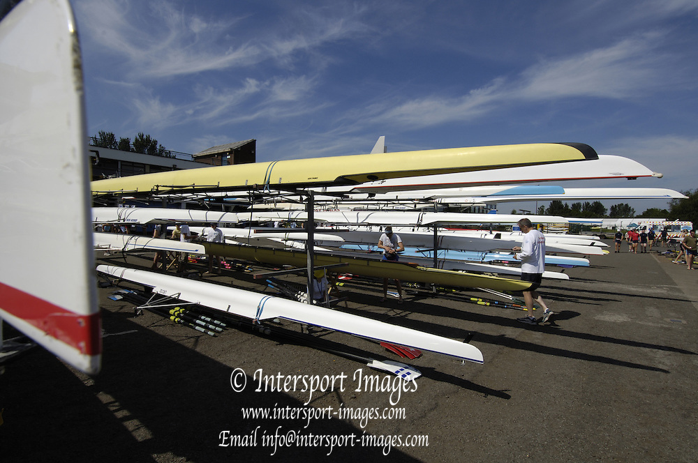 2006, National Rowing Championships,  Boating Area, Strathclyde Country Park,  Motherwell, SCOTLAND. 15.07.2006.  Photo  Peter Spurrier/Intersport Images email images@intersport-images.com.... Rowing Course, Strathclyde Country Park,  Motherwell, SCOTLAND.
