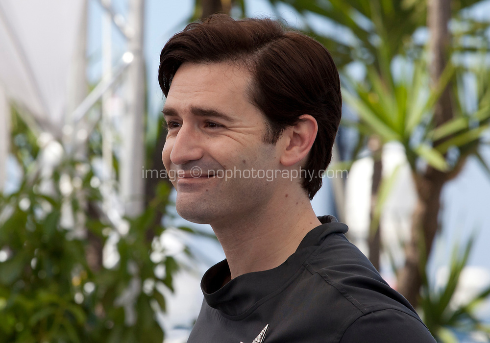 Actor Nicolas Maury at the Knife + Heart (Un Couteau Dans Le Coeur) film photo call at the 71st Cannes Film Festival, Friday 18th May 2018, Cannes, France. Photo credit: Doreen Kennedy