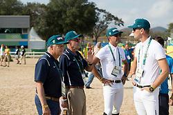Morris George, USA, De Miranda Doda Alvaro, BRA<br /> Olympic Games Rio 2016<br /> © Hippo Foto - Dirk Caremans<br /> 19/08/16
