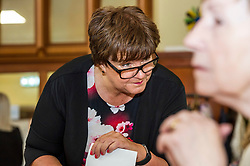 Pictured: Fiona McQueen<br /> <br /> Scotland's Chief Nursing Officer (CNO) Fiona McQueen met members of the NHS Retirement Fellowship as the 70th anniversary of the NHS approaches.<br /> <br /> Ger Harley | EEm 21 June 2018