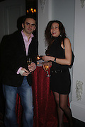 Albert Lusa and Maria Gomez. The Tatler Restaurant Awards in association with  Louis Roederer champagne.  The Four Seasons Hotel, Hamilton Place, London. 10 January 2004. ONE TIME USE ONLY - DO NOT ARCHIVE  © Copyright Photograph by Dafydd Jones 66 Stockwell Park Rd. London SW9 0DA Tel 020 7733 0108 www.dafjones.com