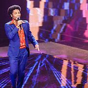 NLD/Hilversum/20160122 - 6de live uitzending The Voice of Holland 2016, Jared Grant