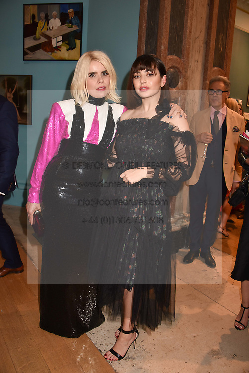 Paloma Faith and Charli XCX at the Royal Academy Of Arts Summer Exhibition Preview Party 2018 held at The Royal Academy, Burlington House, Piccadilly, London, England. 06 June 2018.