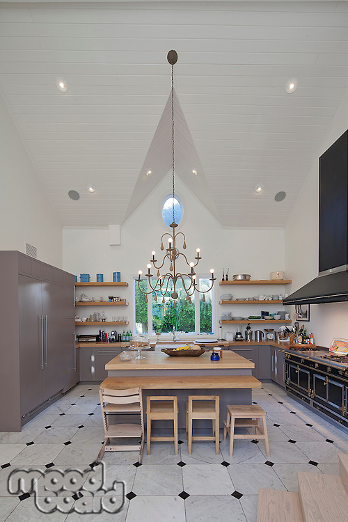 Modern stylish kitchen
