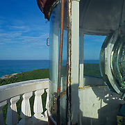 Lighthouse at Punta Celarain. Cozumel, Q.Roo.Mexico