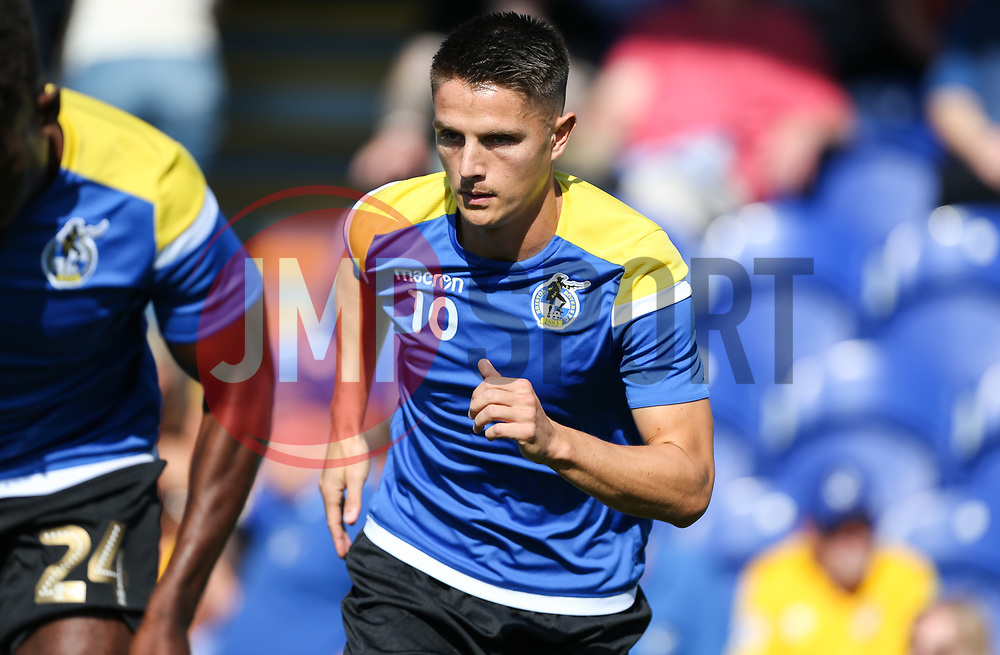 Tom Nichols of Bristol Rovers during the warm up - Mandatory by-line: Arron Gent/JMP - 21/09/2019 - FOOTBALL - Cherry Red Records Stadium - Kingston upon Thames, England - AFC Wimbledon v Bristol Rovers - Sky Bet League One