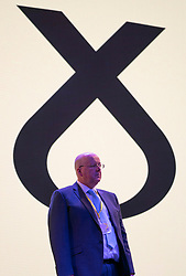 Edinburgh, Scotland, UK. 27 April, 2019. SNP ( Scottish National Party) Spring Conference takes place at the EICC ( Edinburgh International Conference Centre) in Edinburgh. Pictured; SNP CEO Peter Murrell, husband of Nicola Sturgeon during first day of conference.