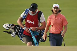 June 16, 2018 - Southampton, NY, USA - Tommy Fleetwood approaches the 16th green during the third round of the 2018 U.S. Open at Shinnecock Hills Country Club in Southampton, N.Y., on Saturday, June 16, 2018. (Credit Image: © Brian Ciancio/TNS via ZUMA Wire)
