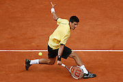 Roland Garros. Paris, France. June 8th 2007..1/2 Finals..Novak DJOKOVIC against Rafael NADAL