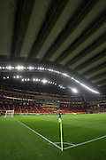 The Toyota Stadium with the roof closed
