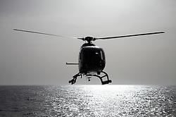 ATLANTIC OCEAN 23OCT14 - Helicopter operations aboard the Greenpeace ship Esperanza in the Atlantic Ocean.<br /> <br /> jre/Photo by Jiri Rezac / Greenpeace<br /> <br /> <br /> © Jiri Rezac 2014