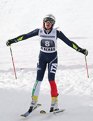 17.01.2016, Hermann Maier Weltcupstrecke, Flachau, AUT, FIS Weltcup Ski Alpin, Flachau, Damen, Riesenslalom, 2. Lauf, im Bild Marta Bassino (ITA) // Marta Bassino of Italy reacts after her 2nd run of Ladie's Giant Slalom for the FIS Ski Alpine World Cup at the Hermann Maier Weltcupstrecke in Flachau, Austria on 2016/01/17. EXPA Pictures © 2016, PhotoCredit: EXPA/ Johann Groder