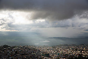A storm rolls over the Shan city of Taungyi, Shan State's largest city.