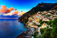 """The first light of dawn on Positano""…<br />