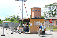 Mannheim. 14.07.17 | Spinelli<br /> Feudenheim. Spinelli. Ehemaliges US Areal wird derzeit als Fl&uuml;chtingsunterkunft verwendet. <br /> 2023 soll hier die Bundesgartenschau BUGA stattfinden.<br /> - Tag der offenen T&uuml;r.<br /> <br /> <br /> BILD- ID 0393 |<br /> Bild: Markus Prosswitz 14JUL17 / masterpress (Bild ist honorarpflichtig - No Model Release!)