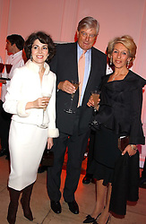 ARCHIE & SHARON STIRLING and the DUCHESS OF MARLBOROUGH at a 'A Night in Cartier Paradise' to celebrate a new collection of jewellery by Cartier, held at The orangery, Kensington Palace, London W8 on 25th October 2005.<br />