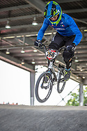 #268 (SCIORTINO Martti) ITA at Round 6 of the 2019 UCI BMX Supercross World Cup in Saint-Quentin-En-Yvelines, France