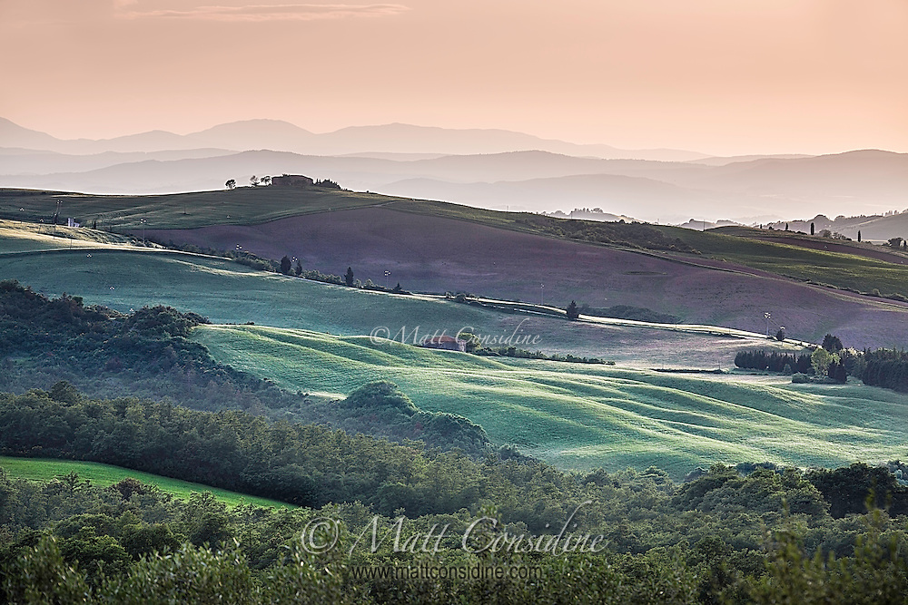 Valley in late afternoon light. (Photo by Travel Photographer Matt Considine)